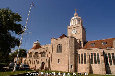 portsmouth cathedral uk cathedrals worship religion christian british architecture architectural buildings pompey hampshire hamps england english angleterre inghilterra inglaterra united kingdom