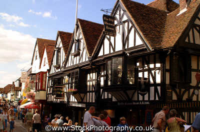 canterbury old weavers house ad1700 historical britain history science misc. kent england english angleterre inghilterra inglaterra united kingdom british