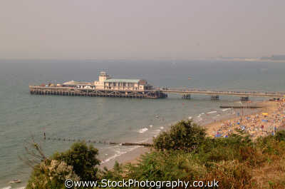 bournemouth pier aerial piers uk coastline coastal environmental seaside dorset england english angleterre inghilterra inglaterra united kingdom british