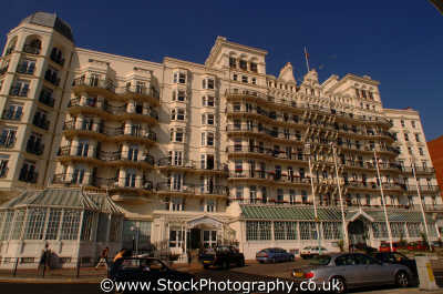 brighton grand hotel south east southeast england english uk seaside sussex home counties angleterre inghilterra inglaterra united kingdom british