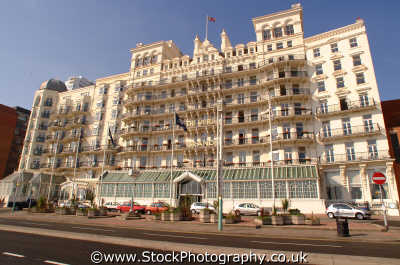 brighton grand hotel south east southeast england english uk seaside ira sussex home counties angleterre inghilterra inglaterra united kingdom british