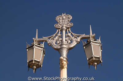 brighton ornamental street lamps south east southeast england english uk lights sussex home counties angleterre inghilterra inglaterra united kingdom british