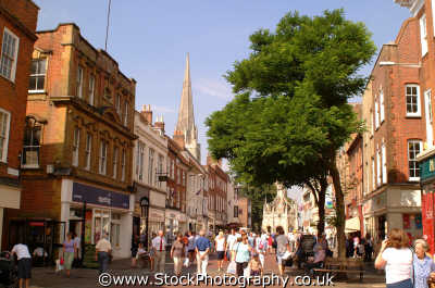 chichester shopping east street south southeast england english uk sussex home counties angleterre inghilterra inglaterra united kingdom british