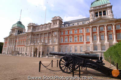 old admiralty buildings turkish gun government architecture london capital england english uk quango civil servant service westminster cockney angleterre inghilterra inglaterra united kingdom british