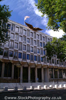 american embassy grosvenor square w1 embassies diplomatic buildings architecture london capital england english uk usa westminster cockney angleterre inghilterra inglaterra united kingdom british