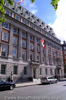 canadian embassy grosvenor square w1 embassies diplomatic buildings architecture london capital england english uk canada westminster cockney angleterre inghilterra inglaterra united kingdom british