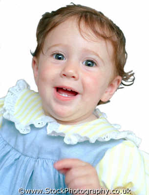 baby girl jolly babies infants girls female children kids juveniles females feminine womanlike womanly womanish effeminate ladylike people persons exuberant effervescent enthusiastic vivacious white caucasian portraits