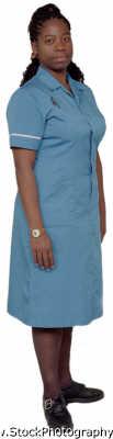 woman twenties dependable professional nurses uniform young women female females feminine womanlike womanly womanish effeminate ladylike people persons negroes black ethnic portraits