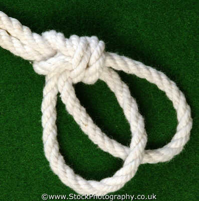 bowline bight knots knotted knotting marine misc. rope