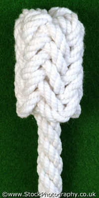 long button knot knots knotted knotting marine misc. rope