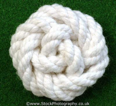 rose knot knots knotted knotting marine misc. rope