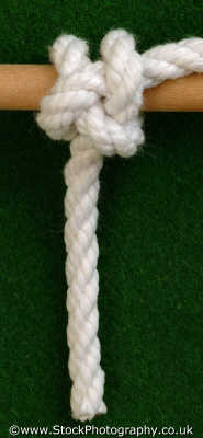snug hitch knots knotted knotting marine misc. rope