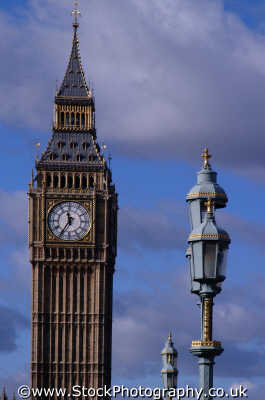 big ben lamposts parliament square famous sights london capital england english uk time westminster cockney angleterre inghilterra inglaterra united kingdom british