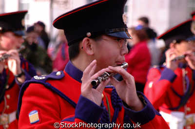 oriental flautist military bands uk militaries flute lord mayors city london cockney england english angleterre inghilterra inglaterra united kingdom british
