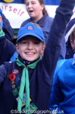girl guide girls female children kids juveniles infants females feminine womanlike womanly womanish effeminate ladylike people persons guides lord mayors city london cockney england english angleterre inghilterra inglaterra united kingdom british
