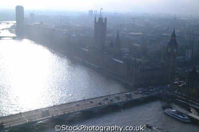 houses parliament aerial misty square famous sights london capital england english uk thames westminster cockney angleterre inghilterra inglaterra united kingdom british