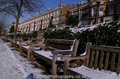 benches richmond hill buildings architecture london capital england english uk winter weather cockney angleterre inghilterra inglaterra united kingdom british