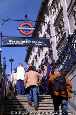 steps westminster tube station underground metro buildings architecture london capital england english uk transport cockney angleterre inghilterra inglaterra united kingdom british