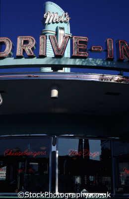 drive diner florida american yankee travel fast food orlando usa united states america