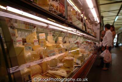 cheese indoor market barcelona costa dorada mediterranean catalunya catalonia spanish espana european travel spain spanien españa espagne la spagna europe
