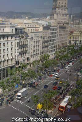 ronda sant pere views barcelona costa dorada mediterranean catalunya catalonia spanish espana european travel spain spanien españa espagne la spagna europe