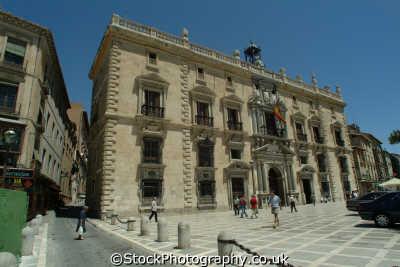 chancellerie royale granada andalucia spanish espana european travel spain spanien españa espagne la spagna europe