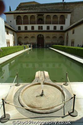 patio los arrayanes alhambra granada andalucia spanish espana european travel spain spanien españa espagne la spagna europe