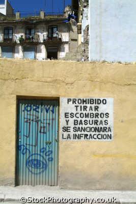 political sign valencia spanish espana european travel spain spanien españa espagne la spagna europe