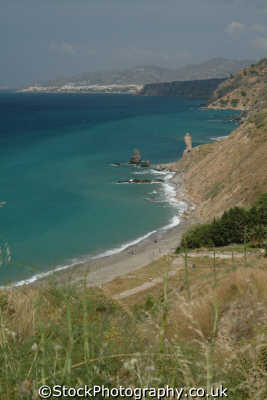 nerja coastline spanish espana european travel mediterranean spain spanien españa espagne la spagna europe