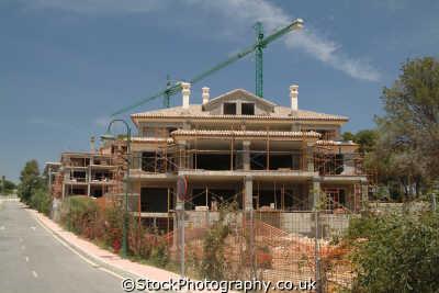 building site marbella costa del sol mediterranean andalucia spanish espana european travel construction spain spanien españa espagne la spagna europe