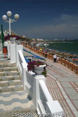 seafront torremolinos costa del sol mediterranean andalucia spanish espana european travel spain spanien españa espagne la spagna europe