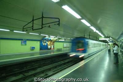 metro madrid spanish espana european travel transport spain spanien españa espagne la spagna europe