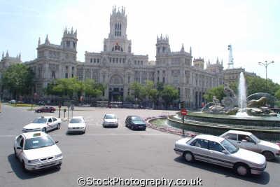 palacio communicaciones madrid spanish espana european travel palace spain spanien españa espagne la spagna europe