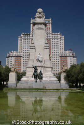 plaza espana madrid spanish european travel spain spanien españa espagne la spagna europe