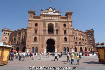 plaza torres madrid spanish espana european travel corrida spain spanien españa espagne la spagna europe