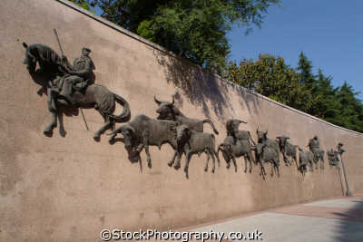 plaza del torres bullfighting mural madrid spanish espana european travel corrida spain spanien españa espagne la spagna europe