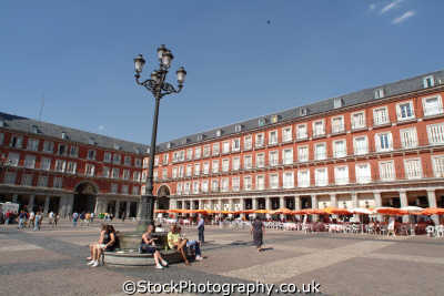 plaza mayor madrid spanish espana european travel spain spanien españa espagne la spagna europe