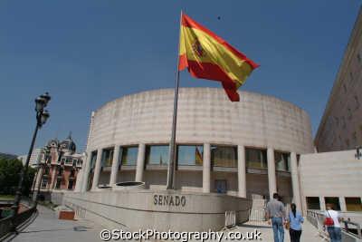 police hq senado madrid spanish espana european travel spain spanien españa espagne la spagna europe