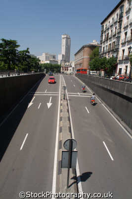 underpass cal bailen madrid spanish espana european travel spain spanien españa espagne la spagna europe