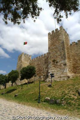 castelo san jorge lisbon portuguese portugese european travel lisboa portugal europe