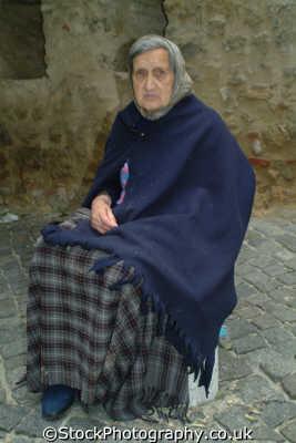old portugese beggar lady lisbon portuguese european travel poverty lisboa portugal europe