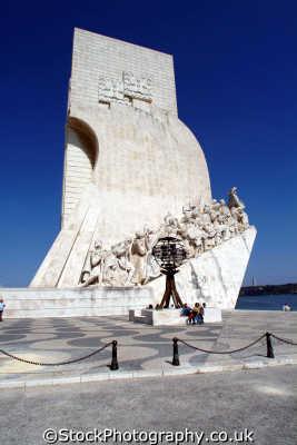 padrao dos descobrimentos lisbon portuguese portugese european travel monument lisboa portugal europe