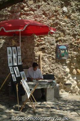 painter lisbon portuguese portugese european travel artist lisboa portugal europe
