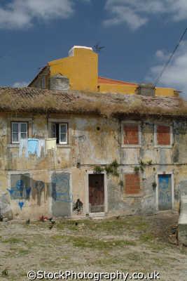 poor housing lisbon portuguese portugese european travel poverty lisboa portugal europe