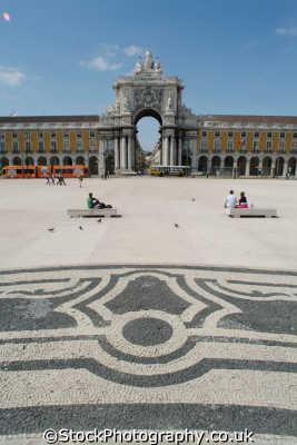 praca comercio portugese paliament lisbon portuguese european travel government politics lisboa portugal europe