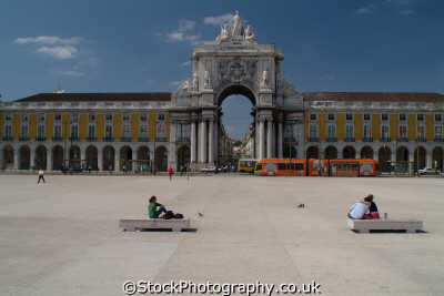 praca comercio portugese parliament lisbon portuguese european travel government politics lisboa portugal europe