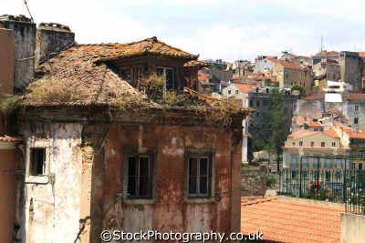 rooftops lisbon portuguese portugese european travel lisboa portugal europe
