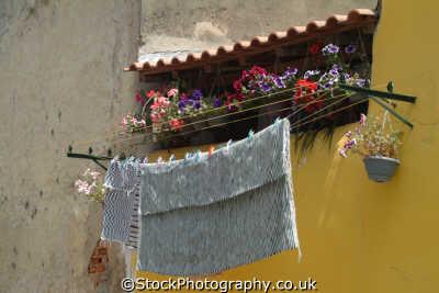 washing line lisbon portuguese portugese european travel lisboa portugal europe