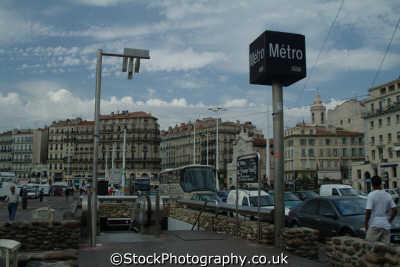metro marseille provence cote azur riviera mediterranean south french european travel transport marseilles france la francia frankreich europe
