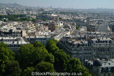 aerial paris left bank french european travel parisienne france la francia frankreich europe